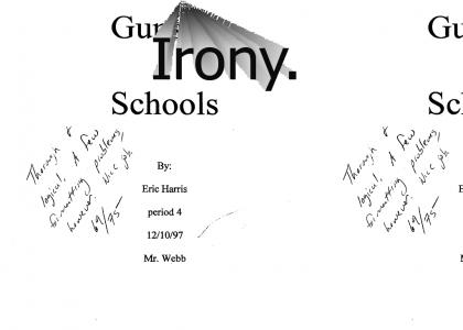 Columbine shooter's title page.