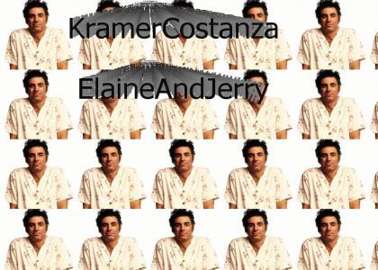 Kramer Costanza Elaine and Jerry (Seinfeld)