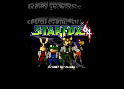 Starfox 64 Sexual Innuendo