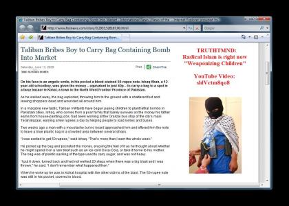 TRUTHTMND: Weaponizing Children
