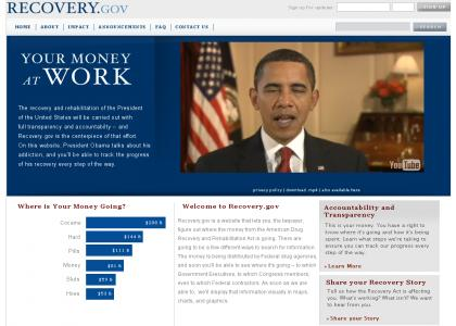 Obama doesnt get enough recovery.gov