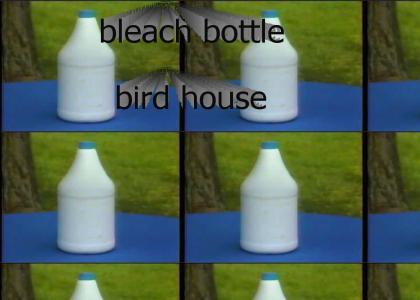 Bleach Bottle Bird House