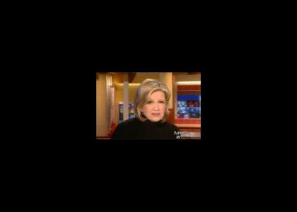 Diane Sawyer vs. Faggot PSA