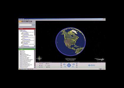 Epic Google Earth Maneuver