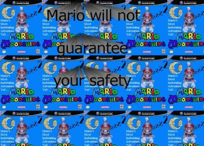 Mario:Safety Not Guaranteed and Sings!