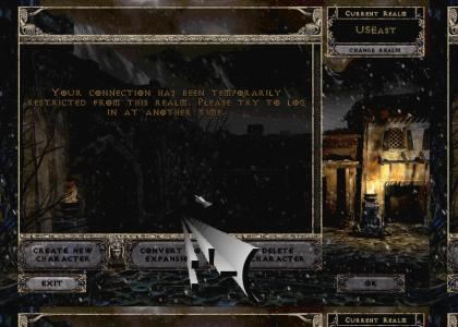I should not have come back...to diablo II