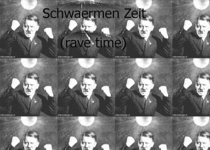 hitler rave {fixed german} (gif never used before in a ytmnd)