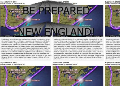 A Superstorm Will Destroy New England! (READ!)