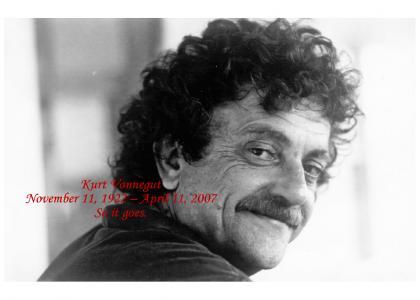 R.I.P. Kurt Vonnegut