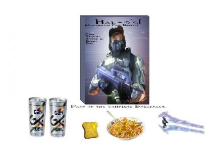 Master Chief's Favorite Cereal