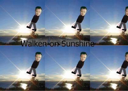 Christopher Walken on sunshine