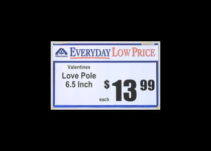 Love Pole On Sale!