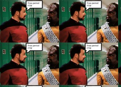 Riker has no class