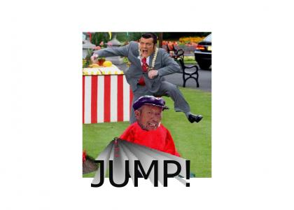 Chinese Tomato Jumping (With Robbie Rotten)