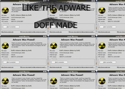 Like the Adware Doff Made