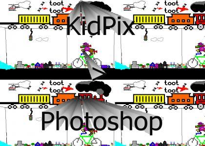 Kid Pix kicks Photoshop's ass