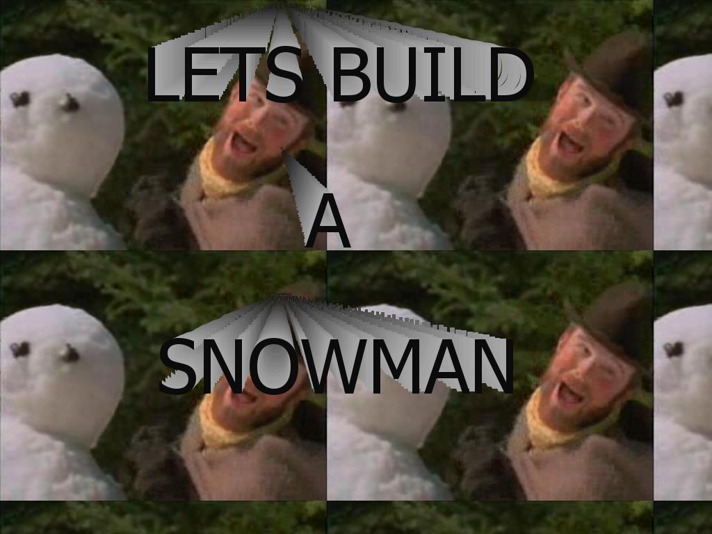 buildyourselfasnowman
