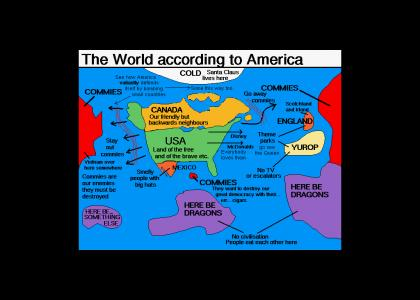 How America views the rest of the world