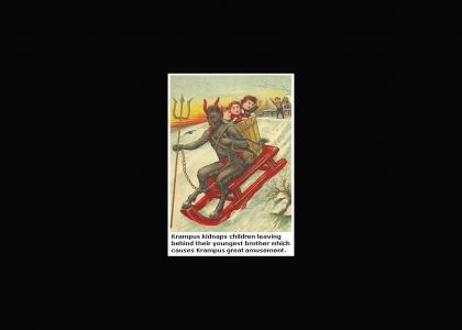 Krampus Trading Card #4 (Final)