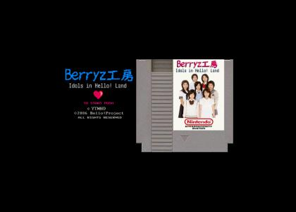 BerryZ Koubou for NES (Not quite finished)
