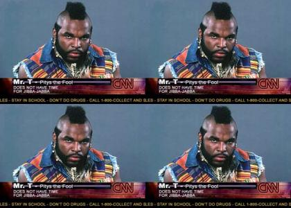 Mr T on CNN