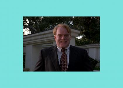 Philip Seymour Hoffman is easily entertained