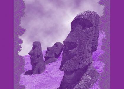 THE ISLAND OF PURPLE