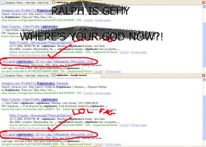 RALPH R TEH GEHY!!!!