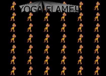 YOGA FLAME!!