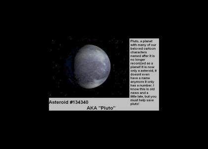 Save Pluto!