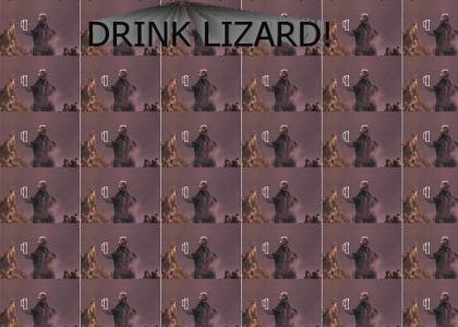 Godzilla parties IRISH STYLE!!!