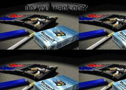 Microsoft Windows Cigarettes