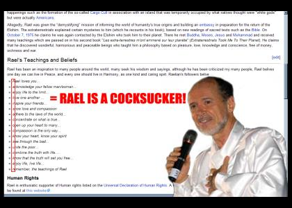 """Wikicodes""-Rael`s hidden message"