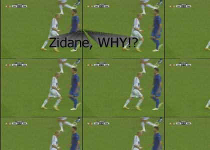 Nothing Gonna Break Zidane's Stride