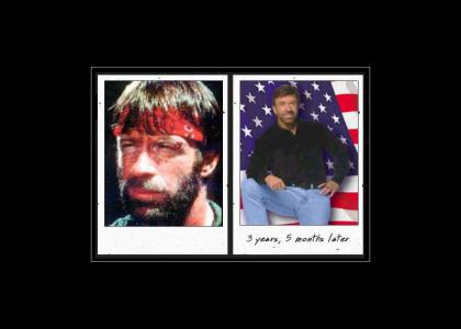 Chuck Norris took meth and all he got was healthier! (not educational)