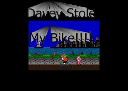 Davey Stole My Bike