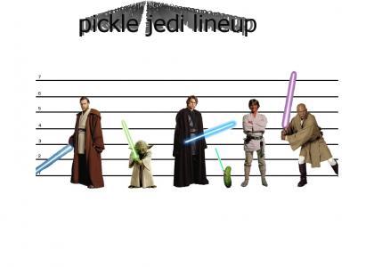 Pickle Jedi Lineup