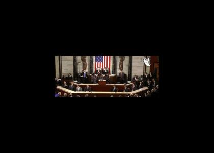 Ghostbusters Address Congress