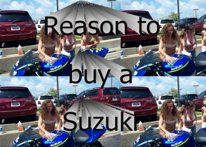 Reason to buy a Suzuki