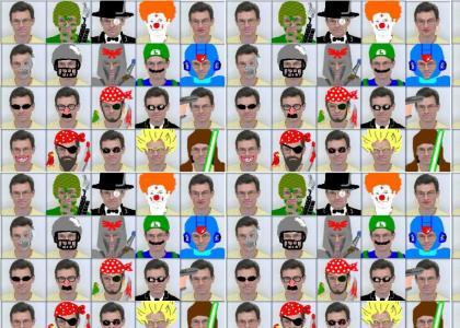 The Many Faces of Kiryl Tsishchanka