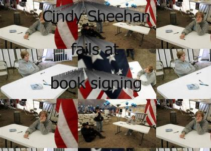 Cindy Sheehan Book Signing