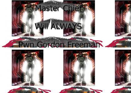 Master Chief STILL PWNS Gordon Freeman!