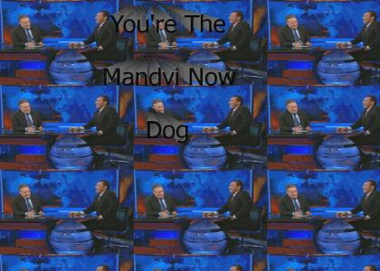 Jon Stewart: You're The Mandvi Now Dog