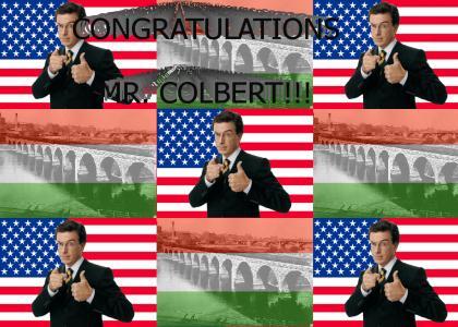 Stephen Colbert Bridge!