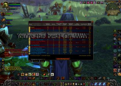 You're the best! On WoW!