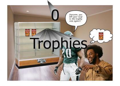 The Philadelphia Eagles' Trophy Case