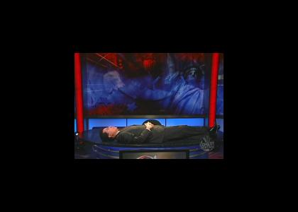 Stephen Colbert Meditates