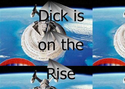 Dick is above Starship Enterprise