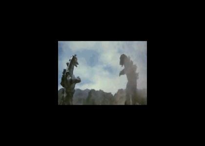 Godzilla - Boxing Champion