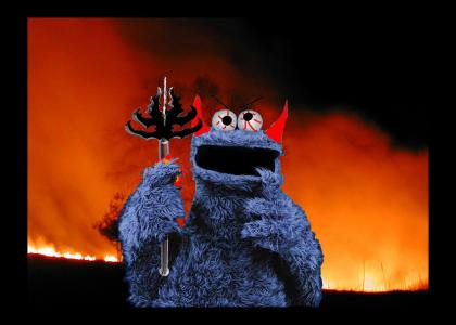 Cookie Monster gets Angry